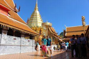 Wat Phrathat Doi Suthep, tour della thailandia