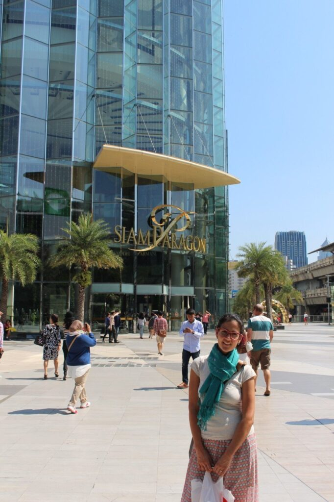 due giorni a bangkok, siam square, paragon center, siam center