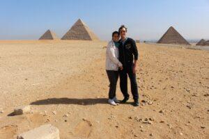 tre giorni in egitto, piramidi giza,