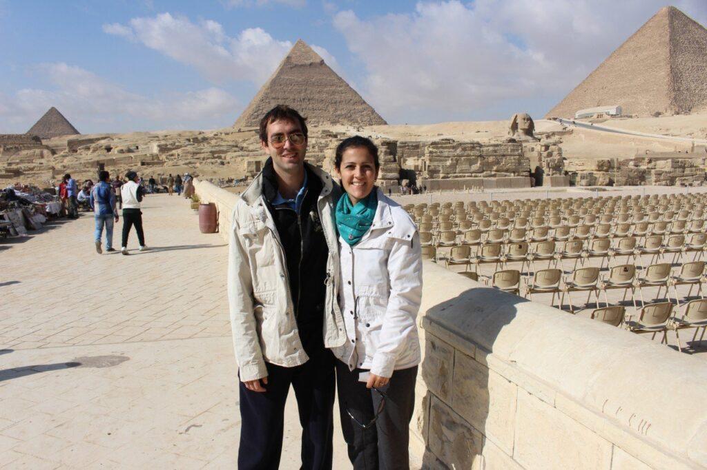 assistere allo spetacolo suoni e luci alle piramidi, tre giorni in egitto, piramidi egiziane