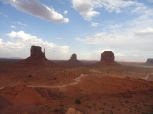 monument valley, utah, tour dei parchi americani