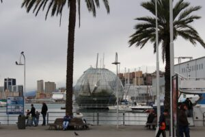 acquario di genova, biosfera