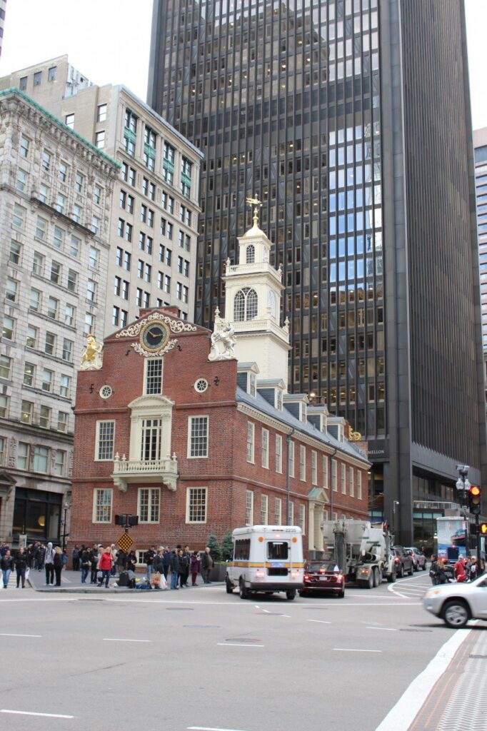 freedom trail boston, prima volta a boston