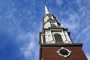 freedom trail boston, church