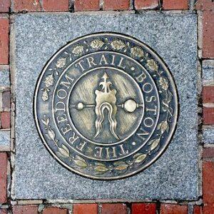 freedom trail, boston con i bambini