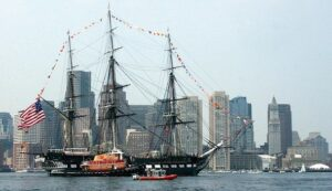 Freedom trail, boston, USS constitution