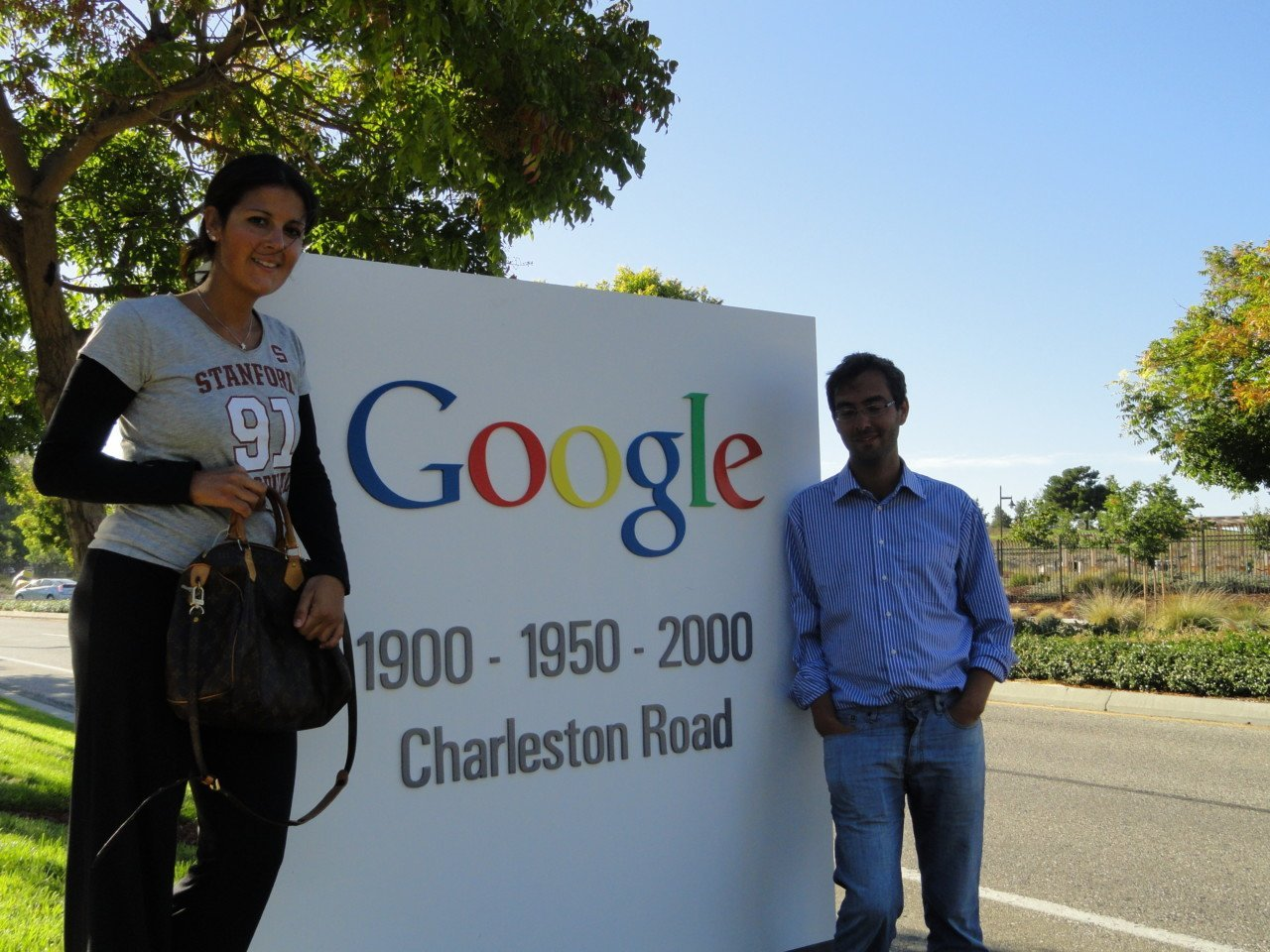 google charleston road, california 3 giorni a san francisco, google site