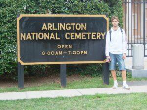 24 ore a washington DC, cimitero arlington