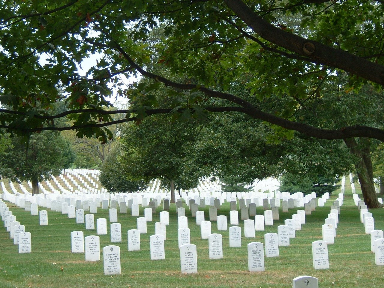 Cimitero arlington, Virginia, America, Washington dc, 24 ore a washington DC