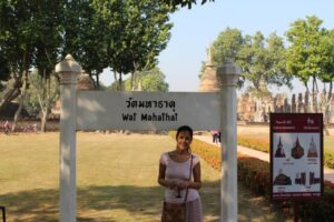 Parco archeologico sukhothai