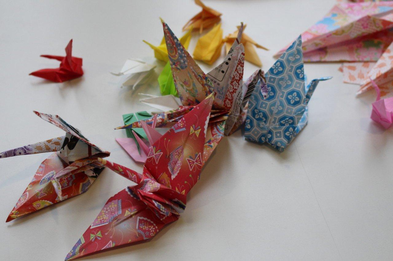 Museo della Pace di Hiroshima, origami