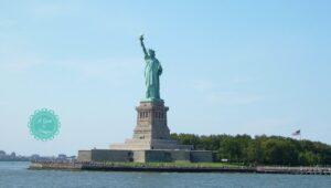 visita alla statua della libertà