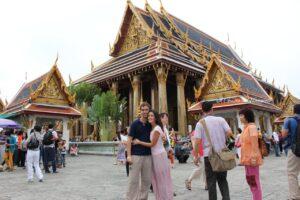 quanto costa un viaggio fai da te in Thailandia, grande palazzo reale di bangkok buddha di smeraldo