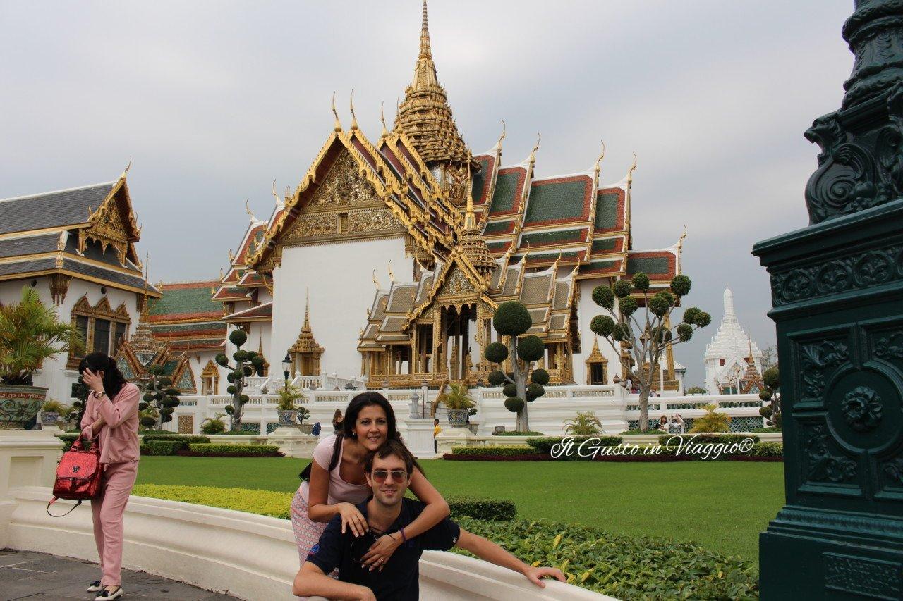 visitare palazzo reale di bangkok, viaggio in asia con bambini, itinerario di due giorni a bangkok, grande palazzo reale di bangkok giardini