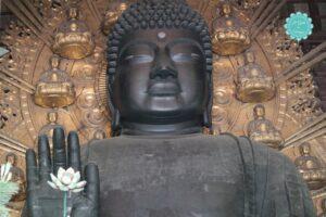 tempio todaiji di nara, buddha, grande statua buddha nara