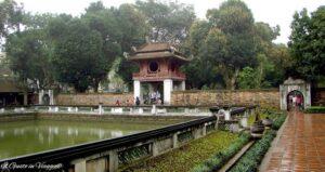 due giorni a hanoi, tempio della letteratura di hanoi