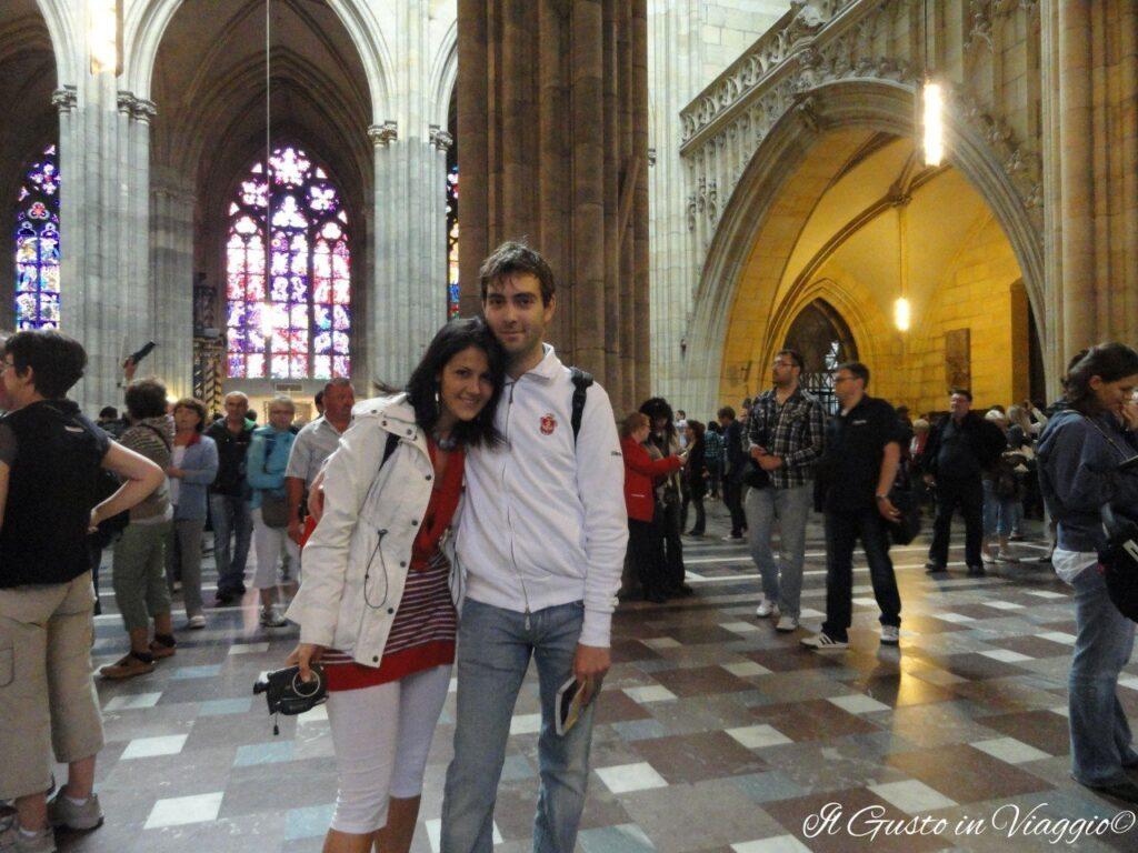 interno cattedrale praga, cosa fare un week end a praga