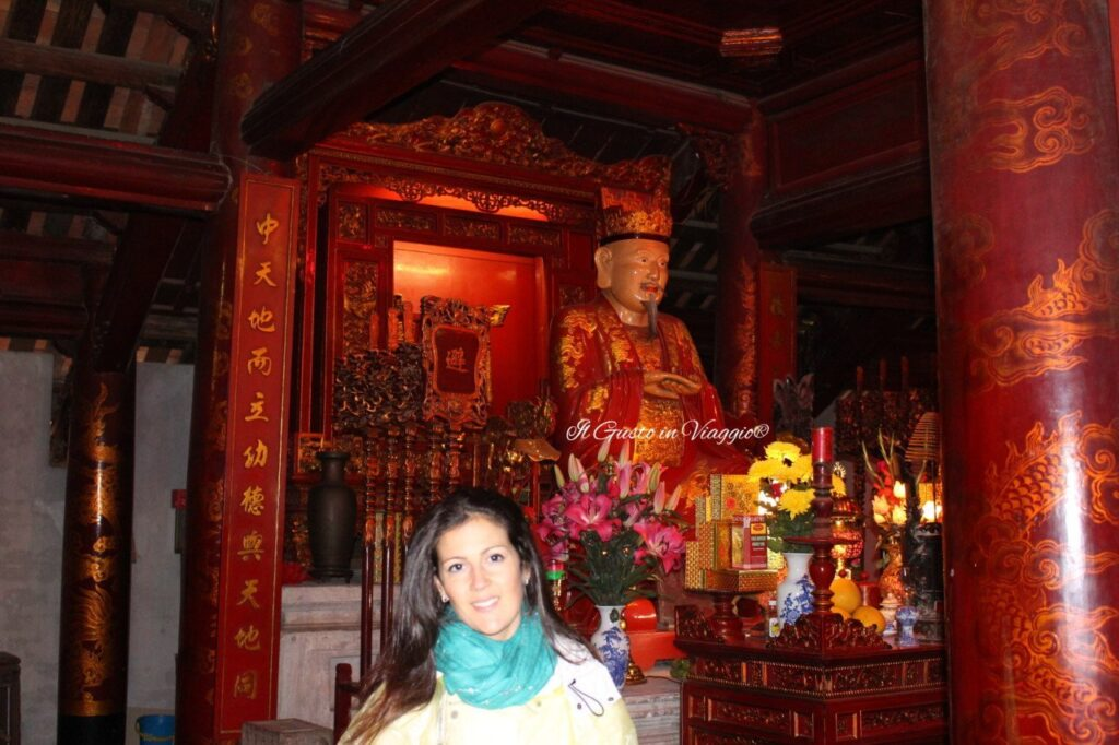 tempio della letteratura di hanoi Sala di Confucio, Tempio di Confucio