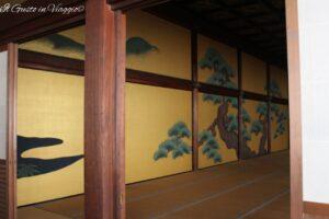 visita al nijo castle, kyoto, 48 ore a kyoto, nijo ji castle, cosa vedere a kyoto, interno Nijo Ji Castle Kyoto
