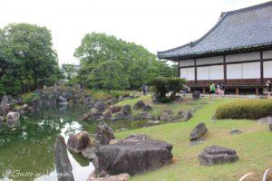 visita al nijo castle, 48 ore a kyoto, nijo ji castle giardini, nijoji garden