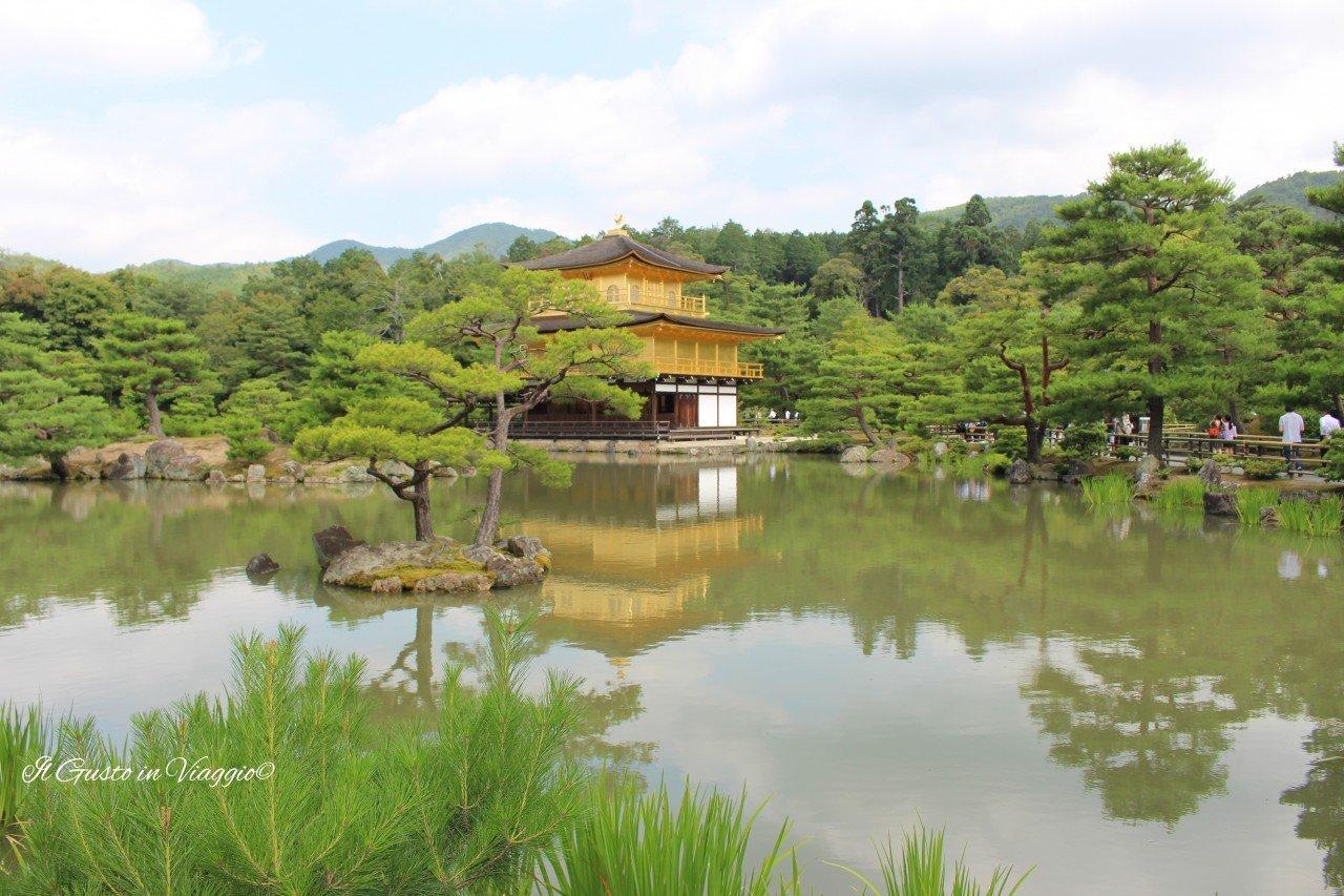 48 ore a Kyoto kinkaku tempio dal padiglione oro