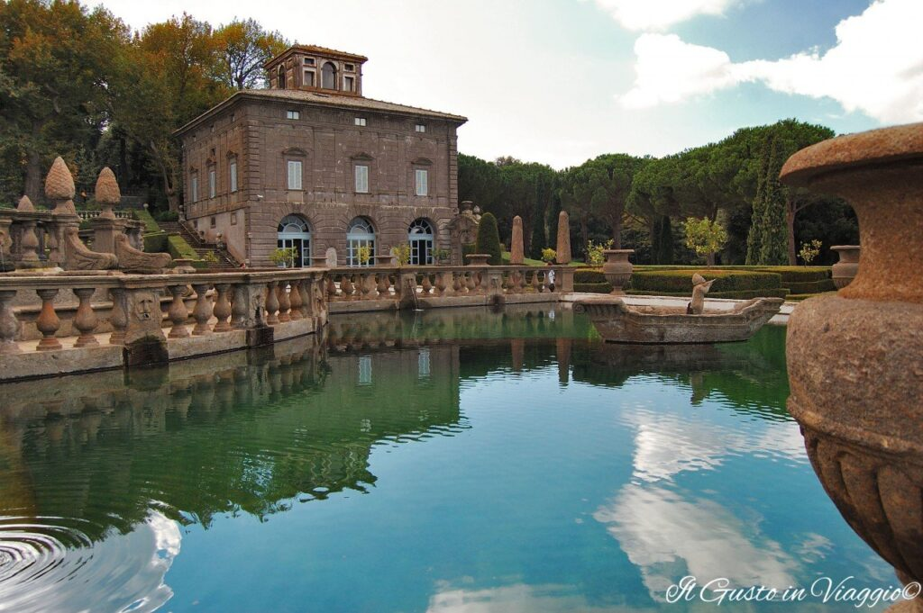 week end a viterbo villa lante bagnaia