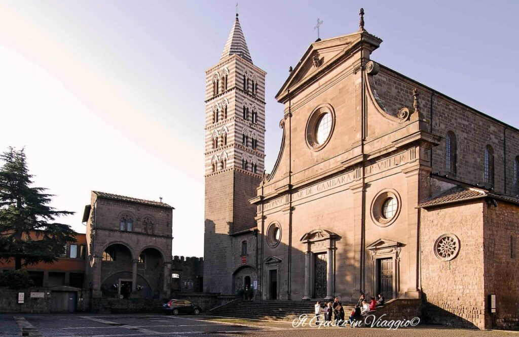 cattedrale di viterbo cattedrale di san lorenzo week end a viterbo