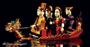 thang long water puppet show hanoi