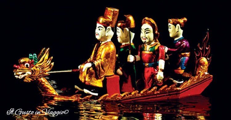 thang long water puppet show hanoi
