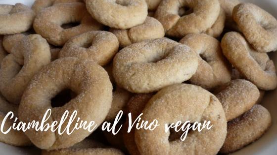 ciambelline al vino vegane, biscotti senza uova, biscotti vegan,