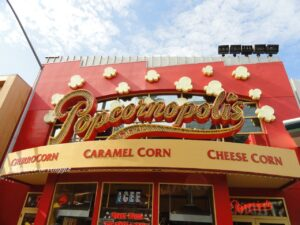 negozio popocorn hollywood visitare gli universal studios pop corn