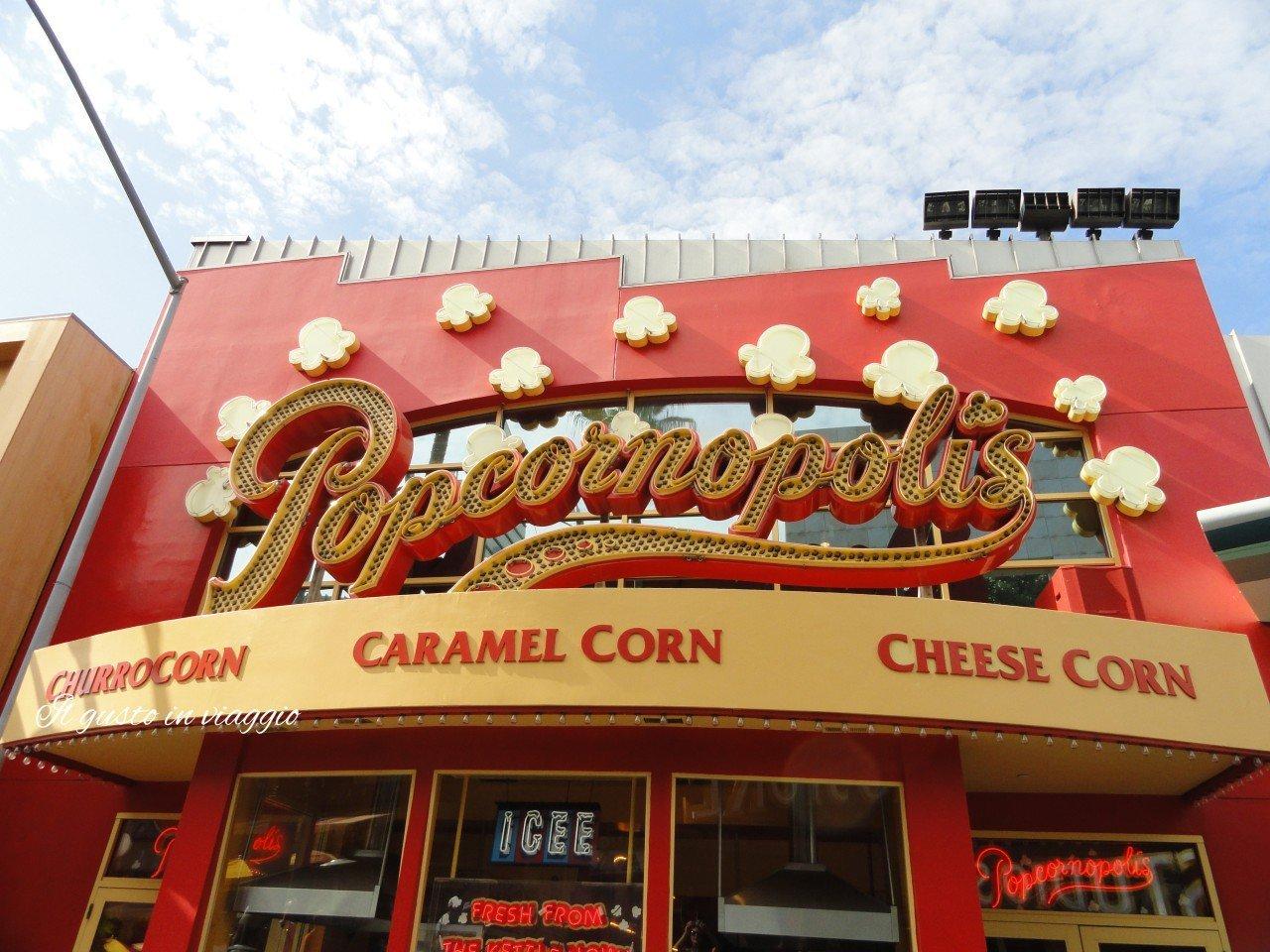 negozio popocorn hollywood visitare gli universal studios pop corn