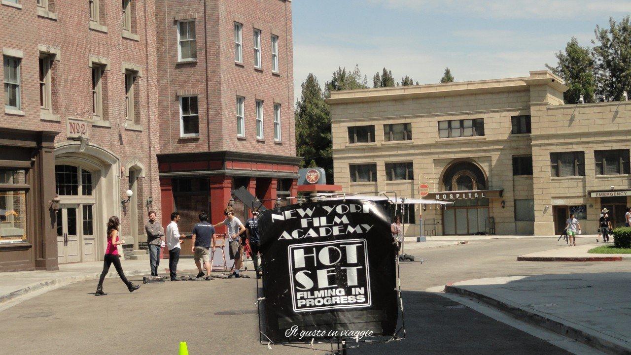 set cinematografico hollywood visitare gli universal studios los angeles