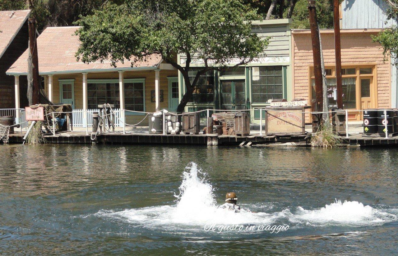 set cinematografico dello squalo hollywood visitare gli universal studios