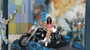 terminator 2 hollywood moto terminator visitare gli universal studios hollywood