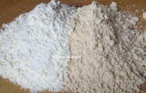 farina integrale farina bianca biscotti di natale alla cannella e zenzero