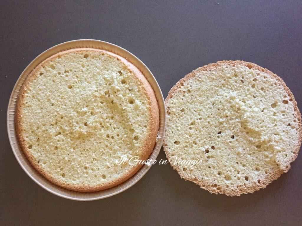 torta raffaello pan di spagna alto, pan-di-spagna-senza-lievito-soffice