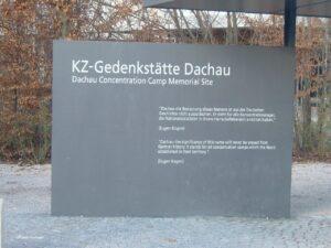 visita al campo di concentramento di dachau Gedenkstatte dachau campo concentramento germania