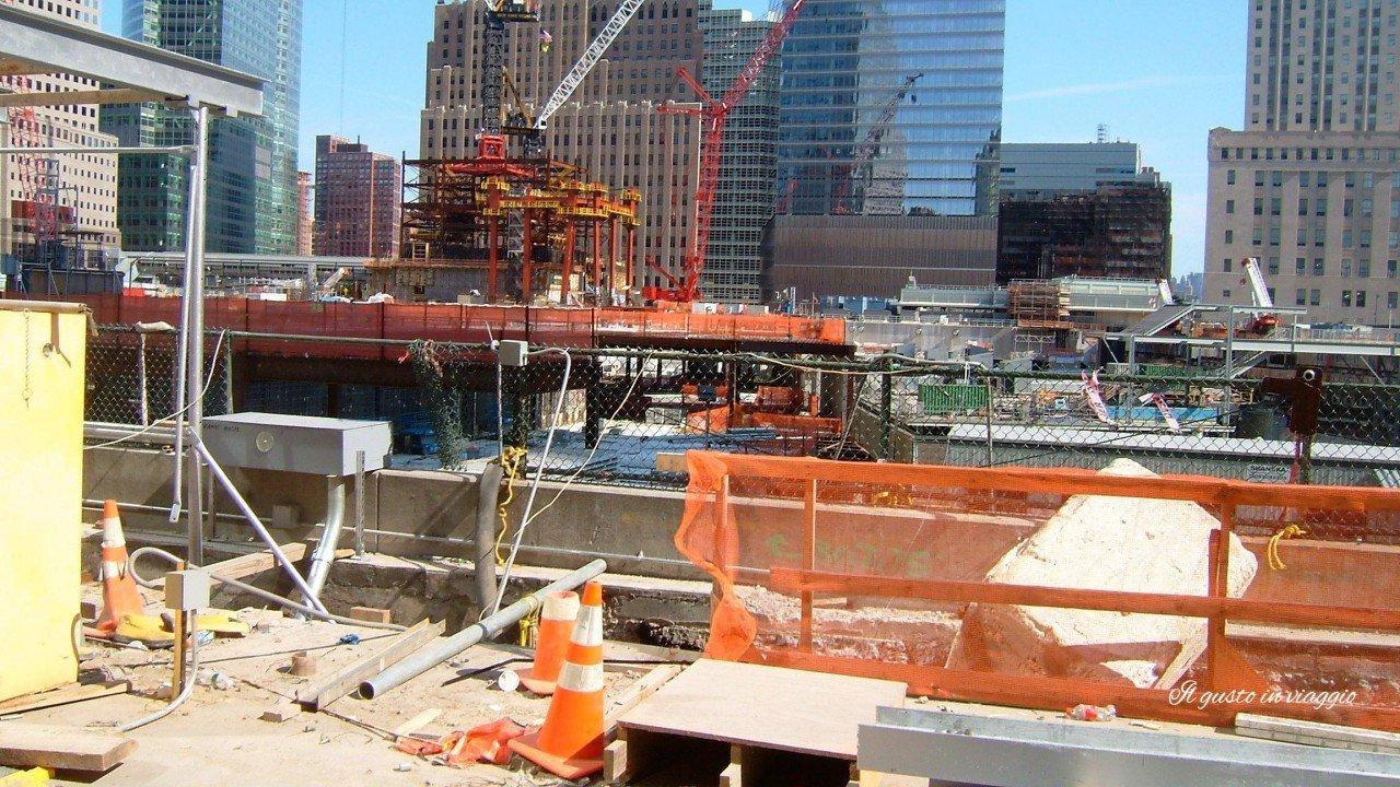Ground zero lavori per 9/11 memorial acquistare i biglietti per la freedom tower