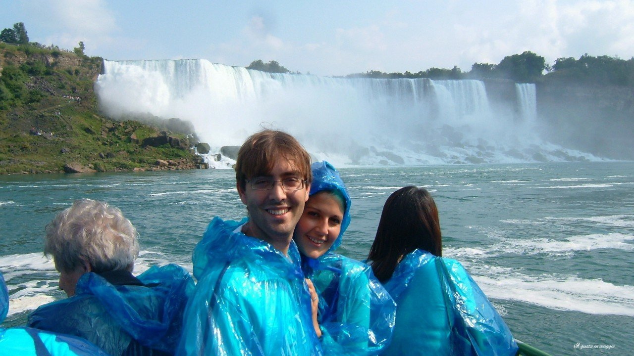 cascate del niagara con il battello, maid of the mist, maid of the mist niagara falls 3 giorno tra toronto e cascate del niagara