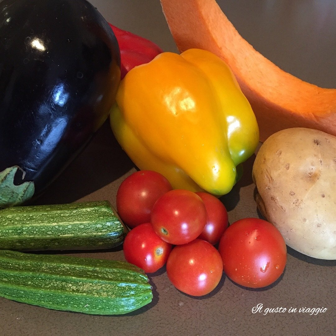 ratatouille al forno contorno vegano ricetta ratatouille vegana light