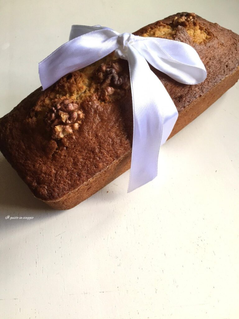 banana bread con noci plumcake thanksgiving dessert