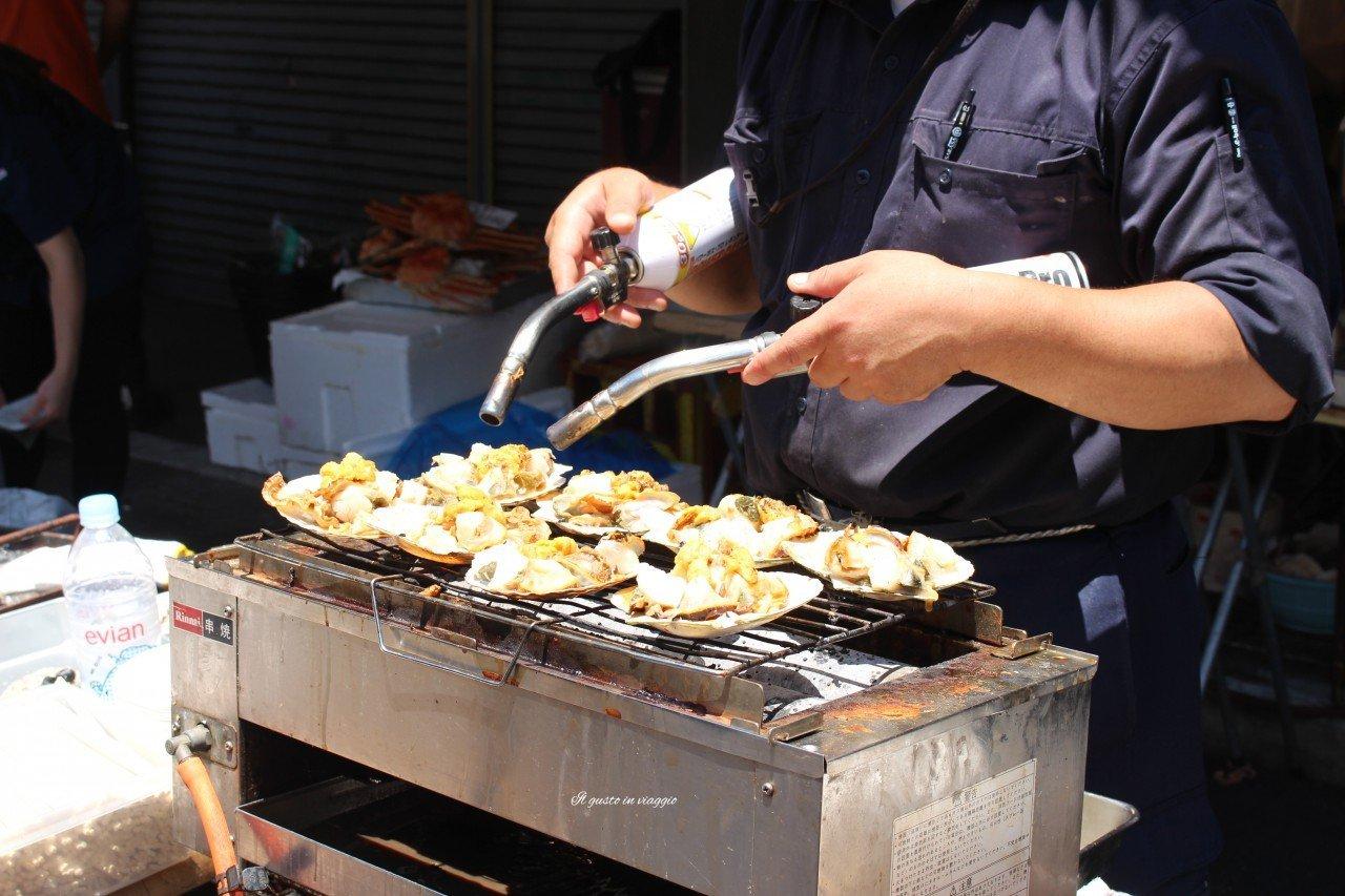 nigiri mercato pesce tokyo tsukiji market