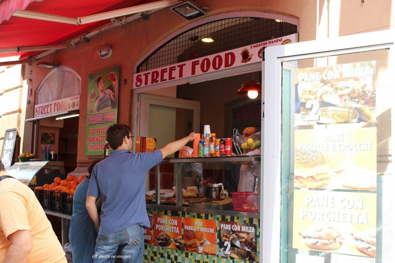 street food pane e panelle palermo con i bambini
