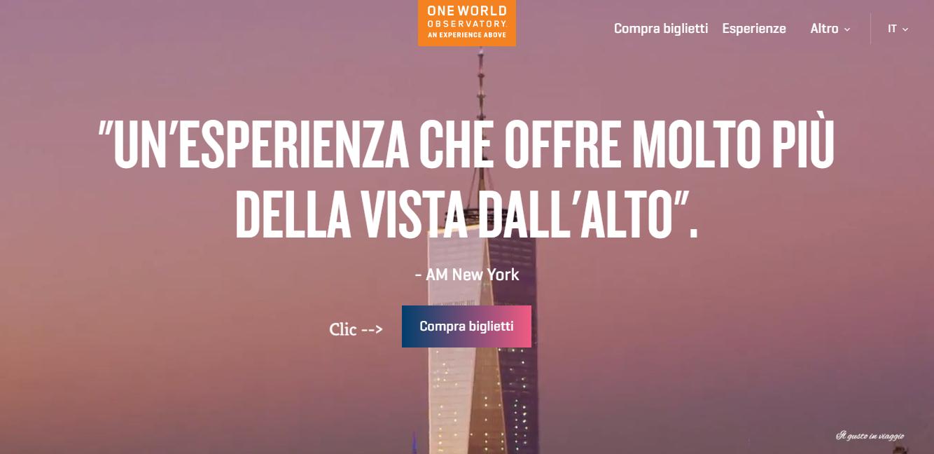 guida per acquistare i biglietti per la freedom tower new york one world observatory