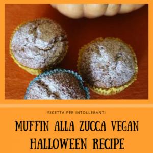 muffin, ricetta, zucca, vegano