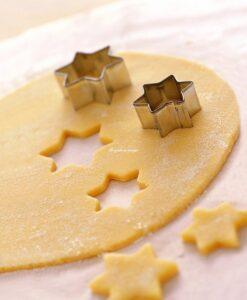 pasta frolla biscotti di natale alla cannella e zenzero