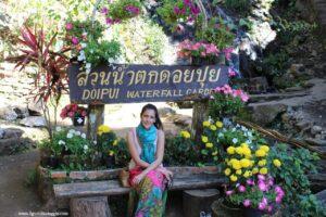 doipui waterfall, due giorni a chiang mai