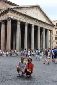pantheon, due giorni a roma,