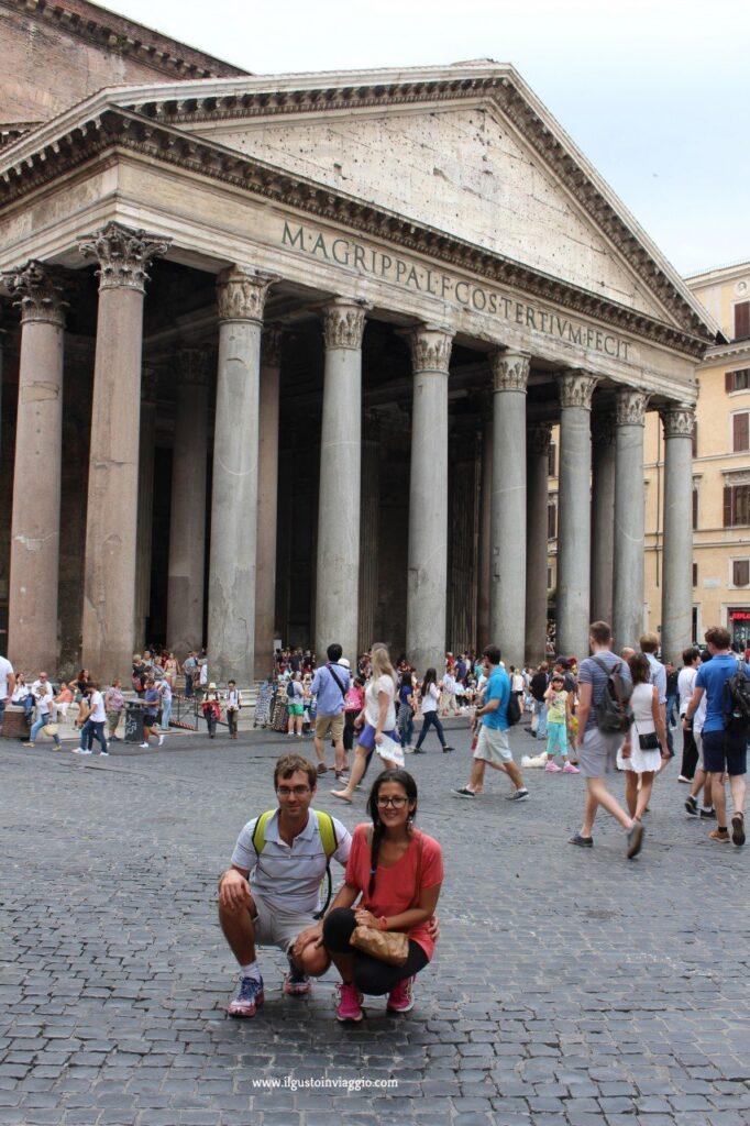 pantheon, due giorni a roma,